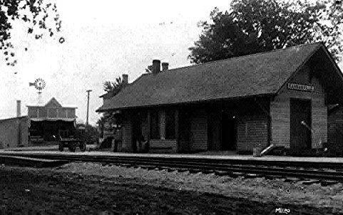 Downtown Kansasville, approximately 1910